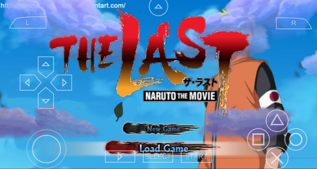 New Naruto The Last Movie PSP Games Mods