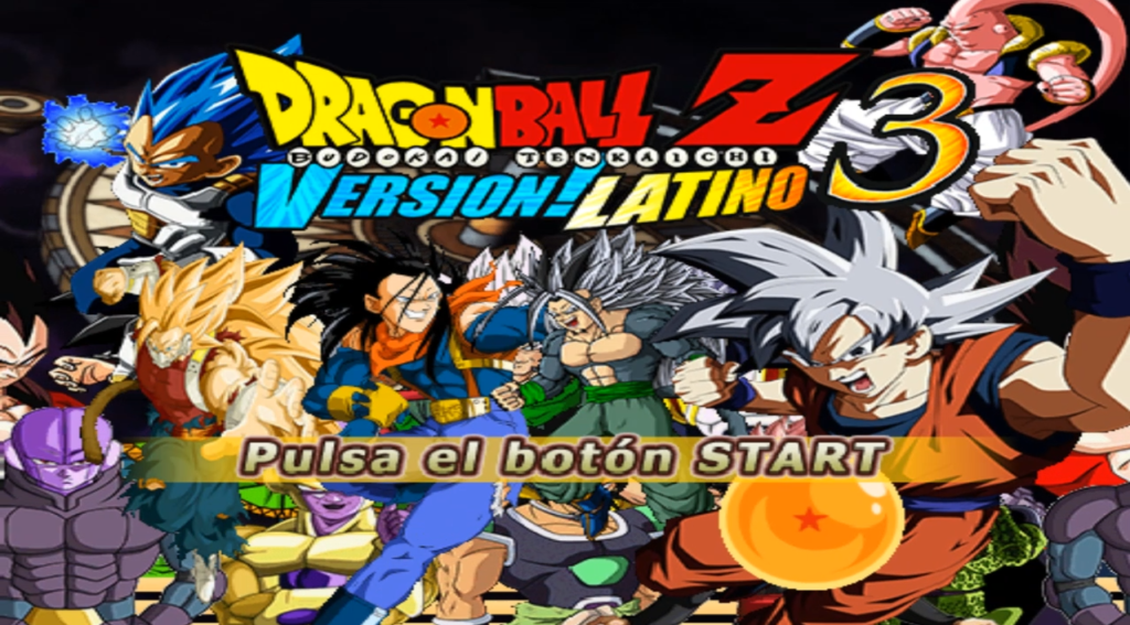 NEW DBZ BT3 VERSION LATINO ANDROID GAME