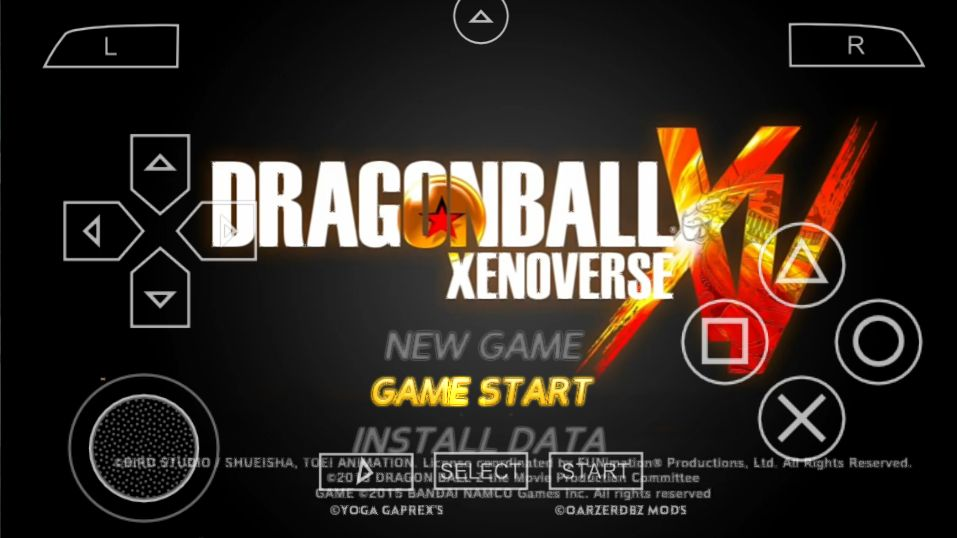 DBZ Xenoverse 2 For Android PSP
