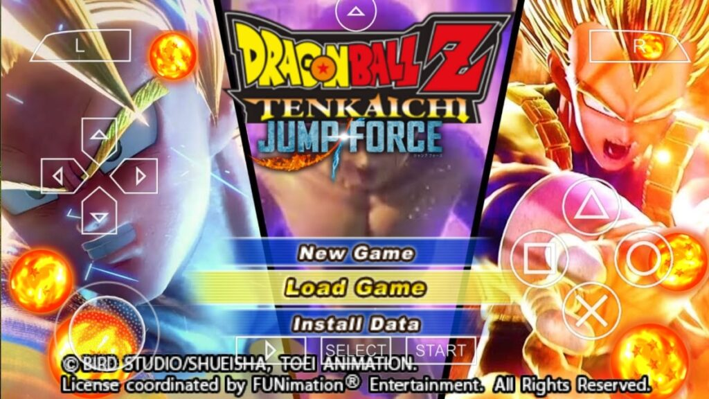 Dragon Ball Z Jump Force Android PPSSPP Game