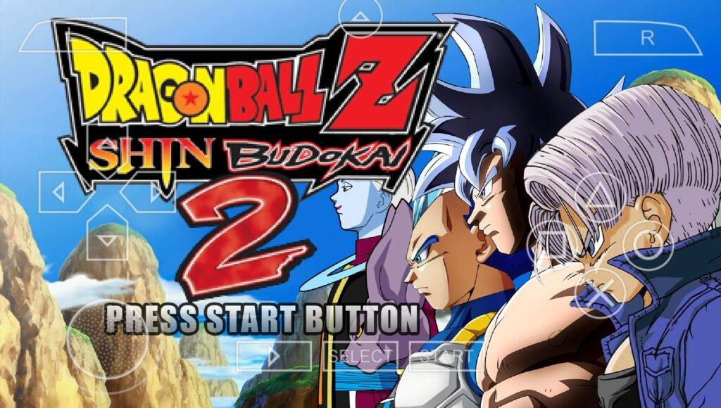 Dragon Ball Z Shin Budokai 2 Mod PPSSPP
